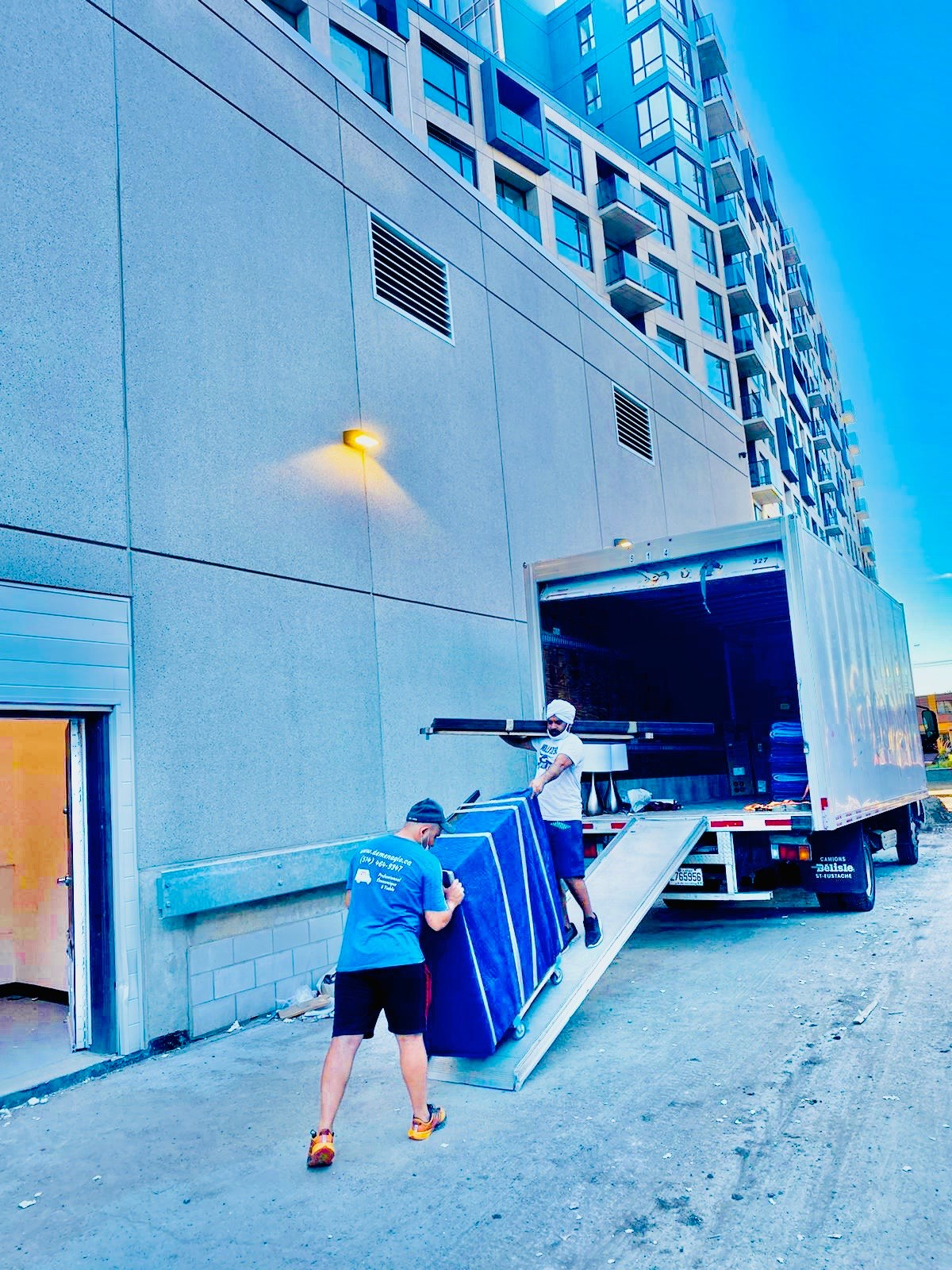 Meilleurs déménageurs à Montréal